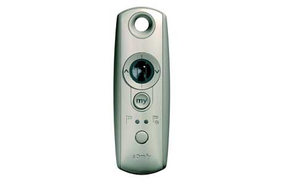 Somfy remote programming instructions for Bali blinds motorized remote control