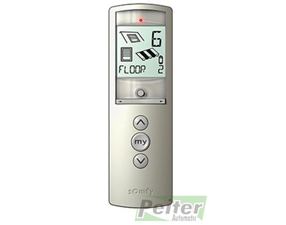 16 channel somfy telis 16 silver rts remote control for. Black Bedroom Furniture Sets. Home Design Ideas